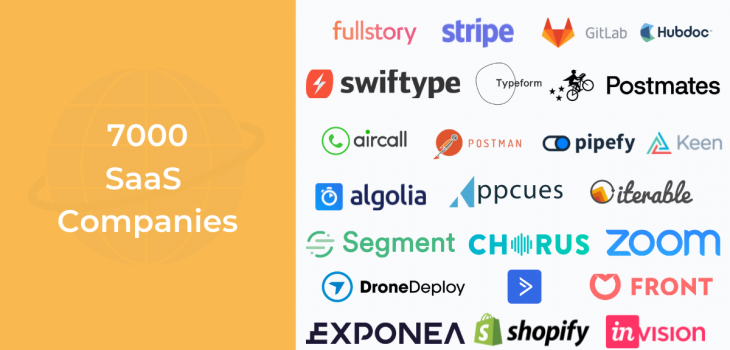 List of SaaS Companies